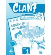 Clan 7 Hola Amigos Nivel 1: Ejercicios (Βιβλίο Ασκήσεων)