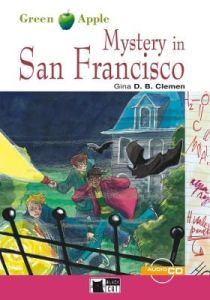 Green Apple: Mystery San Francisco & CD (Step One – A2)(Mystery And Horror Story)
