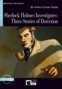 Read & Training: Sherlock Holmes Investigates & CD (Step Three B1.2)(Crime Story)