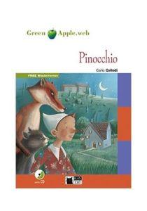 Green Apple: Pinocchio & CD (Starter – A1)(Adventure Story)