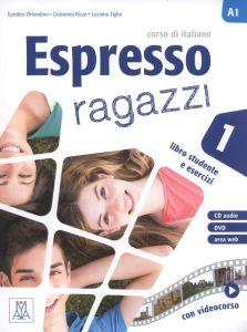 Espresso Ragazzi 1: Libro Studente e Esercizi (+ Cd, + Dvd)