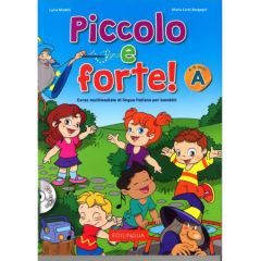 Piccolo e Forte Α: Libro + CD audio