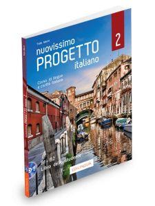 Nuovissimo Progetto italiano 2: Libro dello studente (Βιβλίο Μαθητή & DVD)