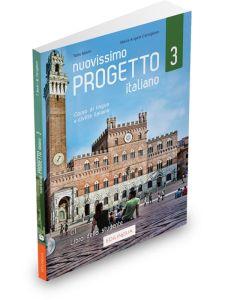 Nuovissimo Progetto italiano 3: Libro dello studente (Βιβλίο Μαθητή & CD)