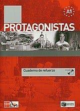 Protagonistas A1: Cuaderno de refuerzo & CD