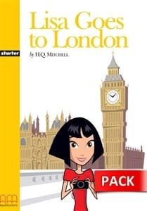 Lisa Goes To London (+Activity Book, +Cd): Graded Readers – Level 1