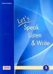 Let's Speak, Listen and Write 3: (προσοχή μόνο ακουστικό υλικό) Cd