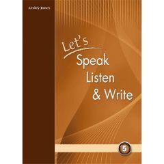 Let's Speak, Listen and Write 5:  (προσοχή μόνο ακουστικό υλικό) Cd's