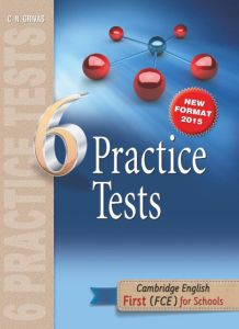 6 Practice Test First (FCE) for schools: Student's Book (2015)
