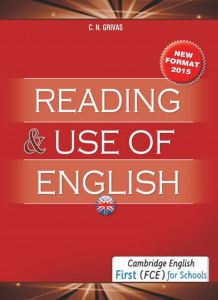 Reading & use of English First (FCE) for Schools: Student's Book (New Format 2015)