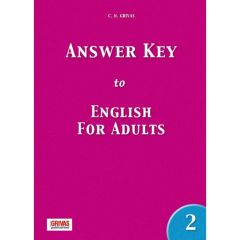 English for Adults 2: Answer key