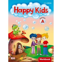 Happy Kids Junior A: Workbook Set (Workbook with Happy Kids Words & Grammar)