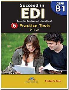 Succeed in EDI Level B1 - Self Study Edition (Student's Book, + Key, + Audio Cd's)