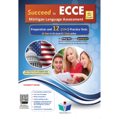 Succeed in Michigan ECCE 12 Practice Tests: Student's Book (Revised 2021)