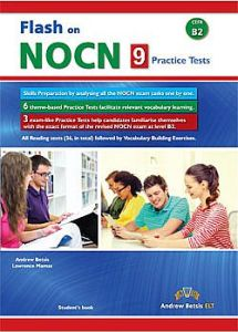 Flash On NOCN B2 (9 Tests): Student's book (2017 Edition)