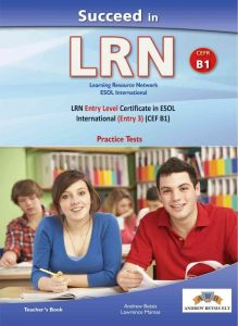 Succeed In LRN B1 : Self Study Edition (Student's Book, + Key, + Audio Cd's)