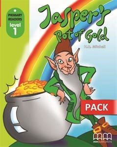 Jasper's Pot Of Gold (+Cd-Rom): Primary Readers – Level 1