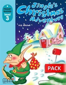 Jingle's Christmas Adventure (+Cd-Rom): Primary Readers – Level 3