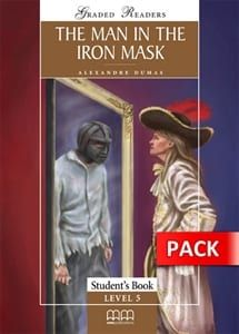 The Man in the Iron Mask (+Activity Book, +Cd): Graded Readers – Level 5