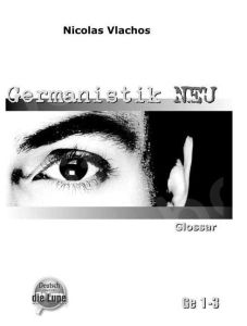 Germanistik Neu - Glossar