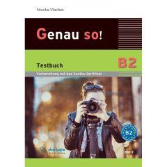Genau So B2: Testbuch & mp3 cd (Βιβλίο Μαθητή)