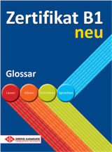 Zertifikat B1 neu - Glossar