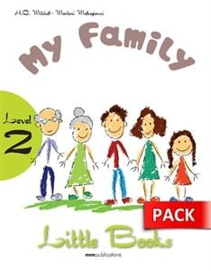 My Family (+CD): Little Books – Level 2
