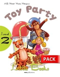 Toy Party (+CD): Little Books – Level 2