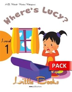 Where's Lucy (+CD): Little Books – Level 1 (Revision story)
