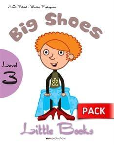 Big Shoes (+CD): Little Books – Level 3