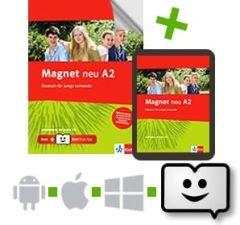 Magnet Neu A2: Arbeitsbuch mit Audio-CD( + Ψηφιακό online βιβλίο)