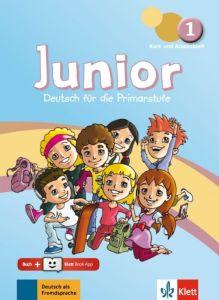 Junior 1: Kurs- und Arbeitsbuch (& Online-Hormaterial & Klett Book App)