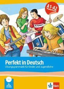 Perfekt in Deutsch (A1-A2). Ubungsgrammatik fur Jugendliche (Klett Book-App)