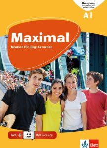 Maximal A1: Kursbuch (Mit Audio Und Videos Online & Klett Book App) (Βιβλίο Μαθητή)