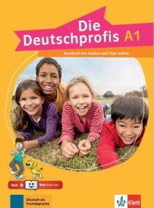 Die Deutschprofis A1: Kursbuch (& Online-Hormaterial & Klett Book App) (Βιβλίο Μαθητή)