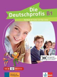 Die Deutschprofis B1: Kursbuch (& Online-Hormaterial & Klett Book App)