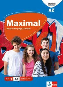 Maximal A2: Kursbuch (Mit Audio Und Videos Online & Klett Book App) (Βιβλίο Μαθητή)