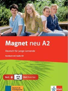 Magnet Neu A2: Kursbuch (& Cd & Klett Book App)