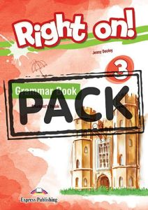 Right On 3: Grammar Book (with Digibooks app.)
