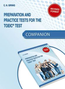 Preparation and Practice Tests for the TOEIC Test: Companion (Revised format 2018)