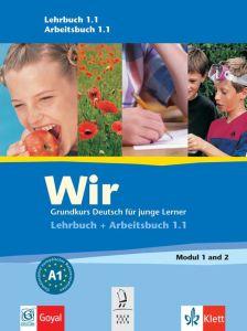 Wir 1, Lehrbuch + CD