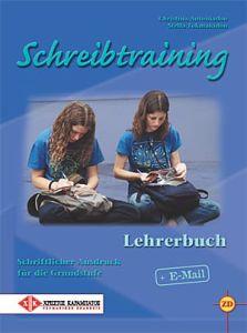 Schreibtraining - Lehrerbuch (Βιβλίο του καθηγητή)
