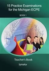 15 Practice Examinations for the Michigan ECPE. Book 1 - 5 CDs