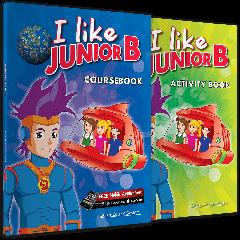 I Like Junior B: Πακέτο Βιβλίων Μαθητή (Coursebook & Activity Book & i-book & Stickers)