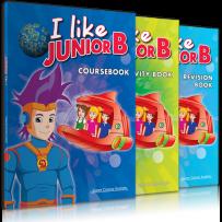 I Like Junior B: Πακέτο Βιβλίων Μαθητή (Coursebook & Activity Book & Revision Book & Revision Audio CD & i-book & Stickers)