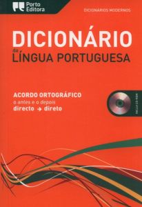 Dicionario Da Lingua Portuguesa Acordo Oth.(+CDROM)