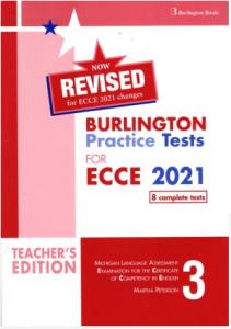 Burlington Practice Tests For ECCE Book 3: Teacher's Book (Revised 2021)