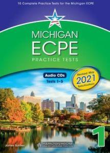 Michigan ECPE Practice Tests 1: Class Audio CDs (ΠΡΟΣΟΧΗ Μόνο Ακουστικό Υλικό) (2021 Format)