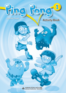 Ping Pong 1: Activity Book