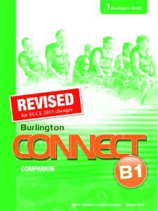 Burlington Connect B1 (Revised): Companion